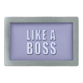 Como Boss Hebilla Cinturón Rectangular