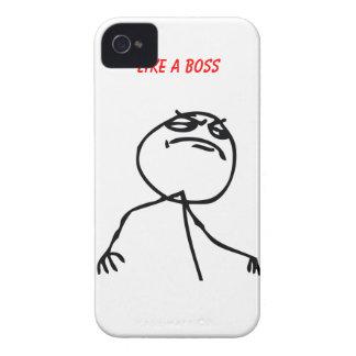 Como Boss iPhone 4 Case-Mate Carcasa