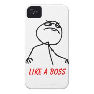 Como Boss iPhone 4 Fundas