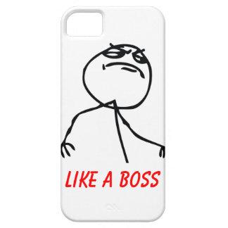 Como Boss iPhone 5 Carcasa