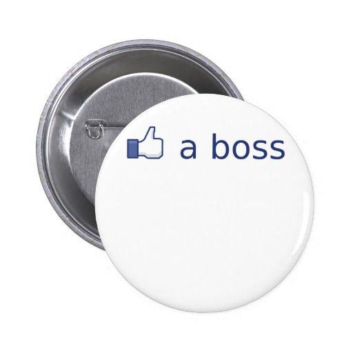 Como Boss Pin Redondo 5 Cm