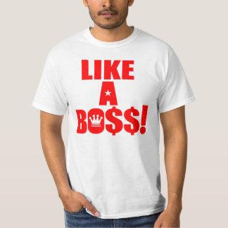 ¡Como Boss! Polera