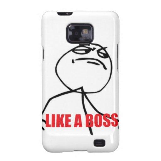 Como Boss Samsung Galaxy SII Carcasa