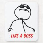 Como Boss Tapete De Ratón