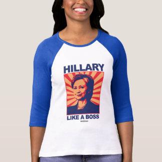 Como Boss - una propaganda de Hillary Poleras