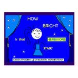 ¿Cómo brillante es esa estrella? Postal