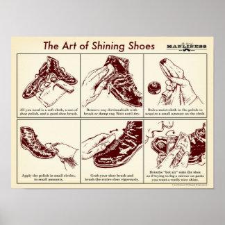 Cómo brillar su poster de la guía ilustrada de los
