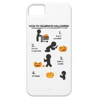 Cómo celebrar Halloween Jack-o iPhone 5 Case-Mate Cárcasas