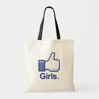Como chicas bolsas
