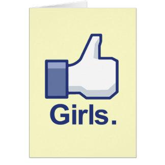 Como chicas felicitaciones