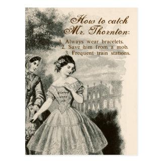 Cómo coger a Sr. Thornton Tarjetas Postales
