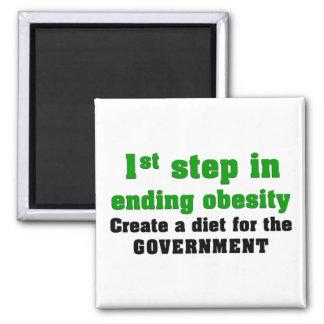 Cómo curar obesidad imán cuadrado