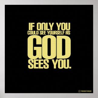 Como dios le ve posters