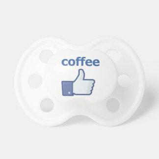 COMO el café Chupete De Bebé