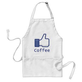 Como el café delantales