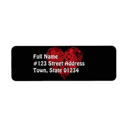 Cómo el corazón trabaja   etiquetas de dirección