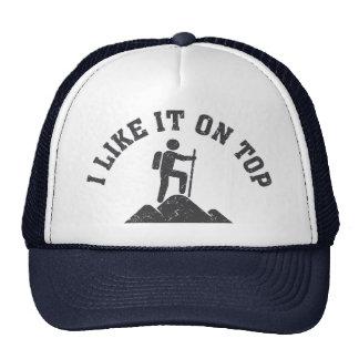 Como él en el sombrero de copa gorras de camionero
