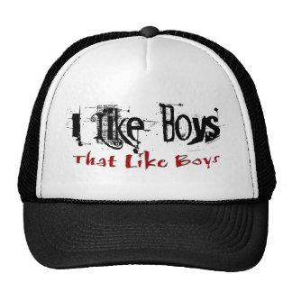Como el gorra de los muchachos