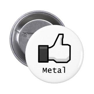 Como el metal pin