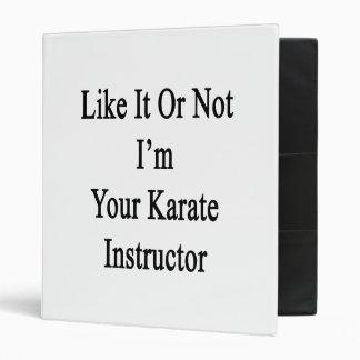 Como él o no mí es su instructor del karate