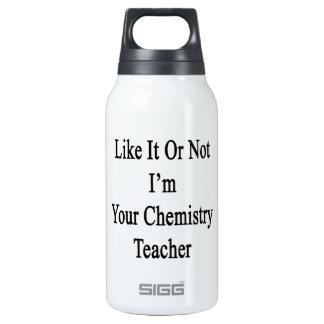 Como él o no mí es su profesor de la química