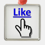 Como el ornamento del botón ornamento para reyes magos