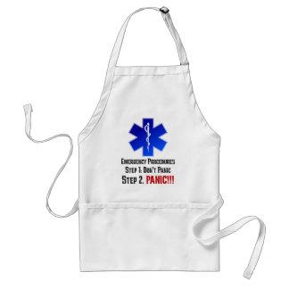 Cómo EMTs responde a su emergencia Delantal