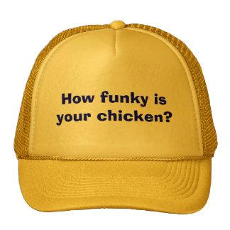 ¿Cómo enrrollado es su pollo? Gorro