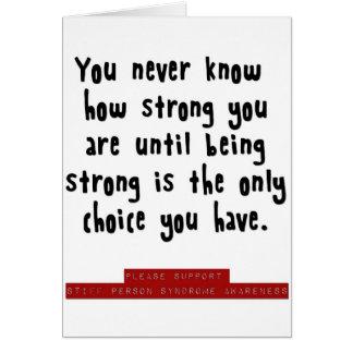 cómo es fuerte usted es felicitaciones