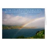 Cómo es gran Cristo… Notecard Tarjeta Pequeña