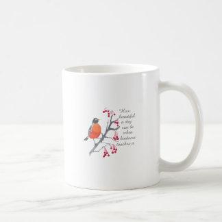 Cómo es hermoso taza básica blanca