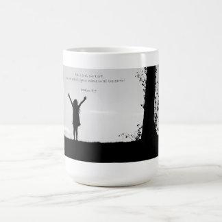 Cómo es majestuosa es su taza de café conocida