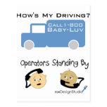 Cómo es mi conducción tarjeta postal