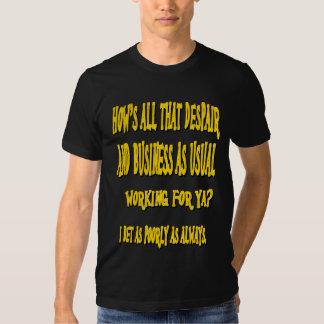 Cómo está esa camisa de la desesperación