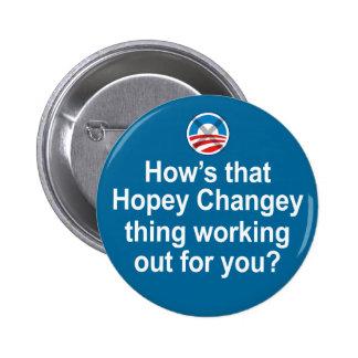 Cómo está esa cosa de Hopey Changey que se resuelv Pin Redondo De 2 Pulgadas