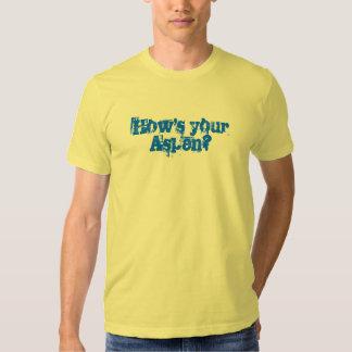 ¿Cómo está su Aspen? Camiseta Playera