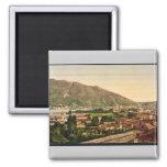 Como, from the railway, Como, Lake of, Italy vinta Refrigerator Magnet
