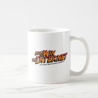 Cómo ganar el logotipo básico del Internet Taza De Café