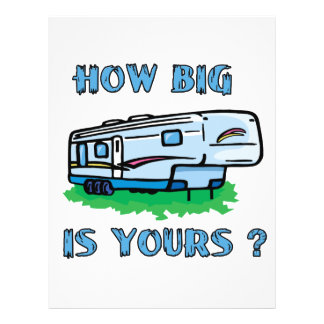 """¿Cómo grande es el suyo? Folleto 8.5"""" X 11"""""""