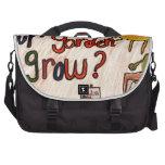 Cómo hace su jardín crezca el adorno bolsas para portátil