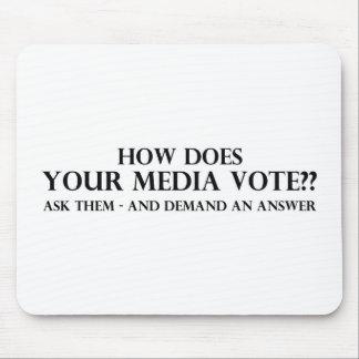 Cómo hace su voto de los medios tapetes de raton