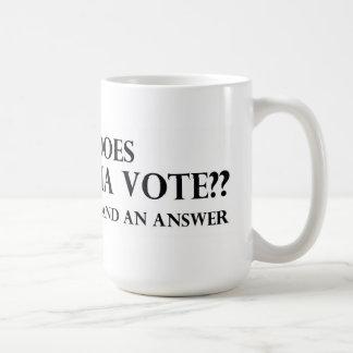 Cómo hace su voto de los medios taza