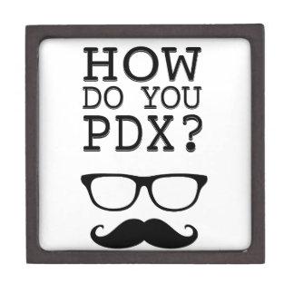 ¿Cómo hace usted PDX ¡El Stache Caja De Joyas De Calidad