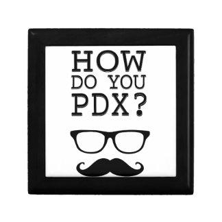¿Cómo hace usted PDX ¡El Stache Cajas De Recuerdo