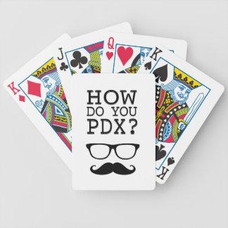 ¿Cómo hace usted PDX ¡El Stache Cartas De Juego