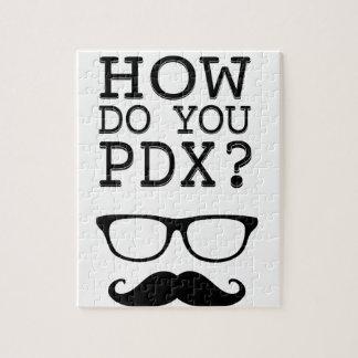 ¿Cómo hace usted PDX ¡El Stache Puzzle Con Fotos