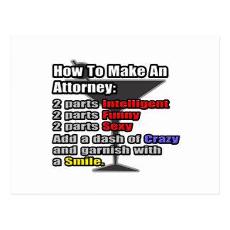 Cómo hacer a un abogado postal