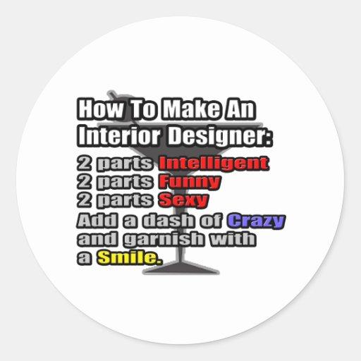 Cómo hacer a un interiorista etiqueta