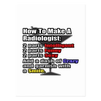 Cómo hacer a un radiólogo postal