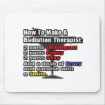 Cómo hacer a un terapeuta de la radiación alfombrilla de ratones